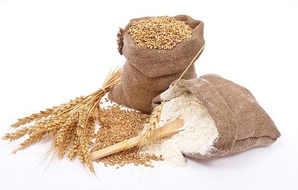 Ejemplo de cereal con gluten.trigo, harina de trigo .