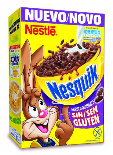 Nuevos cereales Nesquik sin gluten de Nestlé